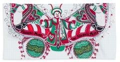 December Butterfly Hand Towel