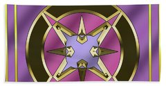 Hand Towel featuring the digital art Deco 25 - Chuck Staley by Chuck Staley