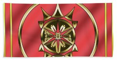 Hand Towel featuring the digital art Deco 26 - Chuck Staley by Chuck Staley