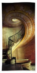 Decorated Spiral Staircase  Bath Towel