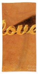 Decorating Love Hand Towel