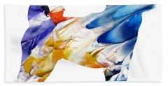 Decorative Husky Abstract O1015e Hand Towel