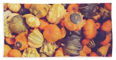 Decorative Squash And Gourds Bath Towel
