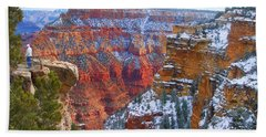 Hand Towel featuring the photograph Deep And Wide by Roberta Byram
