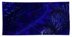Deep Blue Bath Towel