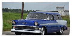 Bath Towel featuring the photograph Deep Cajun Heavy Chevy by John Glass