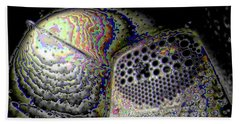 Bath Towel featuring the digital art Deep Dark by Ron Bissett