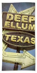 Deep Ellum Texas - #2 Hand Towel