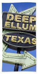 Deep Ellum Texas - #3 Hand Towel