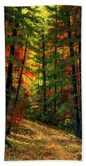 Deep In The Forest Hand Towel