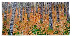 Deep In The Woods- Large Work Hand Towel