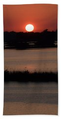 Hand Towel featuring the photograph Deep Louisiana by John Glass