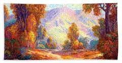 Radiant Peace, Colors Of Fall Hand Towel