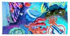 Deep Sea Nudibranch Bath Towel