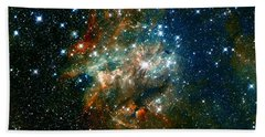 Deep Space Star Cluster Bath Towel