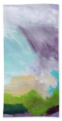 Deepest Breath- Abstract Art By Linda Woods Bath Towel