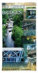 Deer Creek Bridges Hand Towel