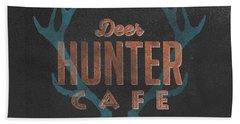 Deer Hunter Cafe Hand Towel
