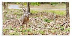 Deer Me, Are You In My Space? Hand Towel