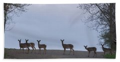 Deer Me Bath Towel by Richard Engelbrecht