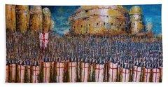 Defence Of Jerusalem Hand Towel