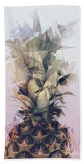 Defragmented Pineapple Hand Towel
