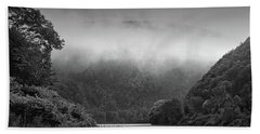 Delaware Water Gap Clouds Set In Hand Towel