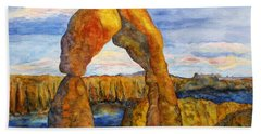 Delicate Arch Hand Towel
