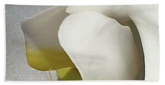 Delicate As Egg Yolk Hand Towel by Sherry Hallemeier