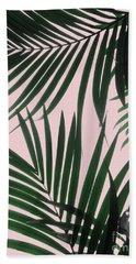 Delicate Jungle Theme Hand Towel