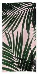 Delicate Jungle Theme Bath Towel