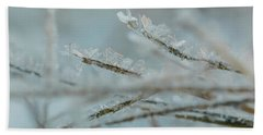 Delicate Morning Frost  Hand Towel