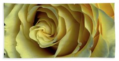 Delicate Rose Petals Hand Towel by Deborah Klubertanz