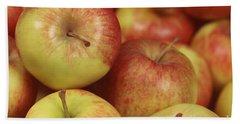 Delicious Apple Fruit Background Bath Towel