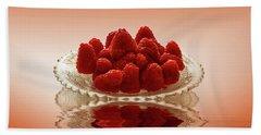 Delicious Raspberries Hand Towel