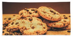 Delicious Sweet Baked Biscuits  Hand Towel