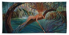 Deliverance Bath Towel by Claudia Goodell