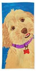 Della Date With Paint Nov 20th Hand Towel