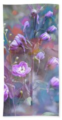Delphinium Dream Hand Towel