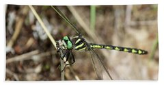 Delta-spotted Spiketail  Male Bath Towel