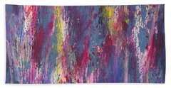 Bath Towel featuring the painting Delve Deep 2 by Mini Arora