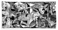 Democrat Guernica Bath Towel