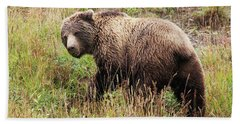 Denali Grizzly Hand Towel
