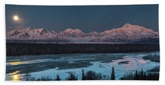 Denali Morning Blue Bath Towel