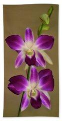 Dendrobium Orchids Bath Towel