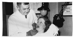 Dentist Has Cure For Pyorrhea Hand Towel