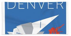 Denver Art Museum/blue Bath Towel