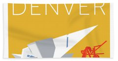 Denver Art Museum/gold Bath Towel