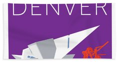 Denver Art Museum/purple Hand Towel