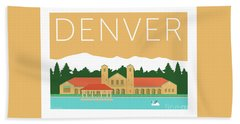 Denver City Park/adobe Bath Towel